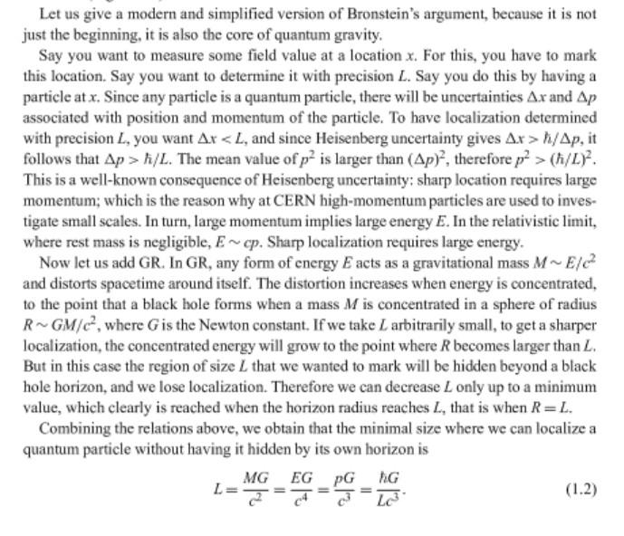 Bronsteins argument